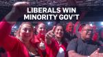 Justin Trudeau's Liberals win minority government
