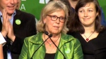 Elizabeth May's post-election speech