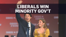 Justin Trudeau's Liberals win minority government