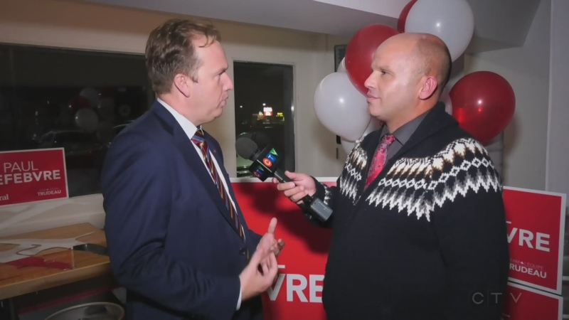 WATCH: CTV's Ian Campbell talks to Sudbury Liberal incumbent Paul Lefebvre about how his role might change under a minority government.