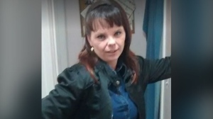 Chrystal Thompson seen here in this handout photo from the Brantford Police Service.