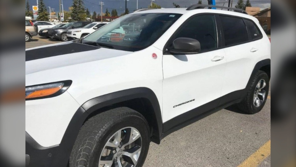 Undated image of Stephanie Hodgson's 2014 Jeep Cherokee (CPS)