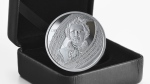 The Royal Canadian Mint has unveiled a special edition silver dollar marking the 175th anniversary of the birth of Louis Riel, the first coin produced by the Mint to be engraved with Michif, the official language of the Métis Nation. (Courtesy Royal Canadian Mint)