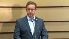 Bloc Leader Yves-François Blanchet speaks