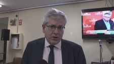 Full interview with Timmins MP-elect Charlie Angus after winning re-election October 21, 2019 (Lydia Chubak/CTV Northern Ontario)