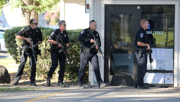 Shooting reported at high school in California, suspect apprehended