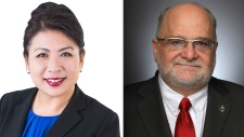 Conservative candidate Nelly Shin eked out a victory in Port Moody-Coquitlam and Liberal incumbent Ron McKinnon narrowly held onto his seat in Coquitlam-Port Coquitlam in the 2019 federal election. Photos: Submitted