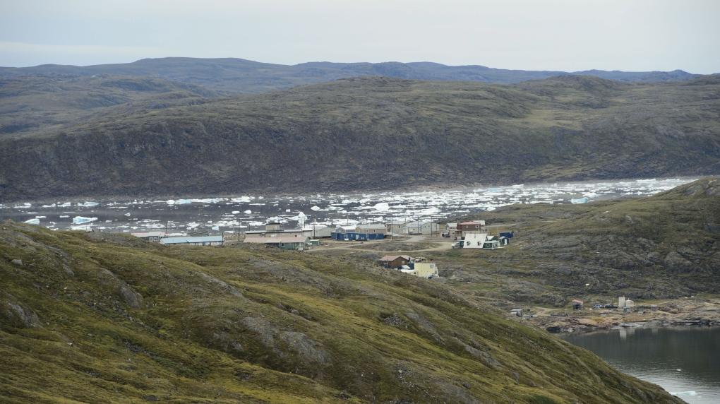 Permafrost in Nunavut