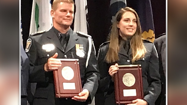 Ottawa Paramedics recognized for bravery