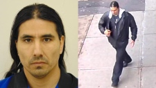 James Larry Moyah, 45, is wanted on a Canada-wide warrant for breaching the conditions of his statutory release. (Handout)