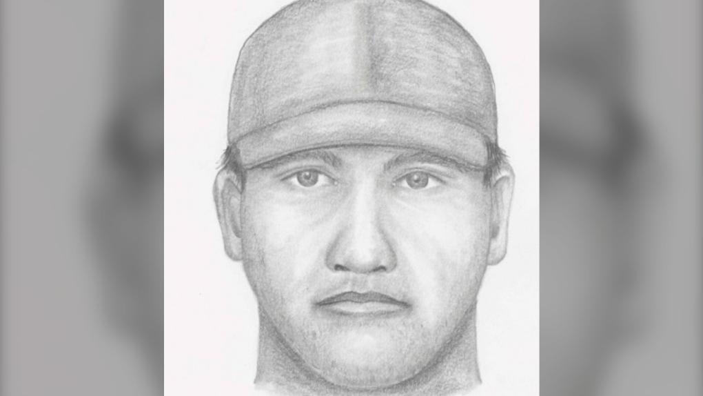 Sketch shows suspect in sex assault of B.C. teen: RCMP