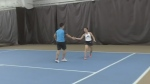 Kitchener tennis players hit new heights