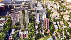 Concept art of proposed Garneau tower