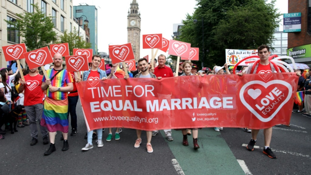 Gay marriage, abortion laws liberalized in Northern Ireland