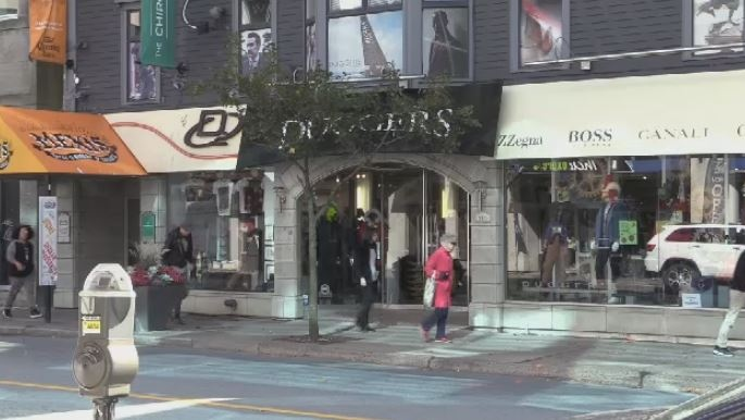 Duggers Men's Wear has been at the same location on Spring Garden Road for more than 25 years.