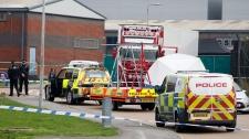 39 bodies found inside truck container in U.K.