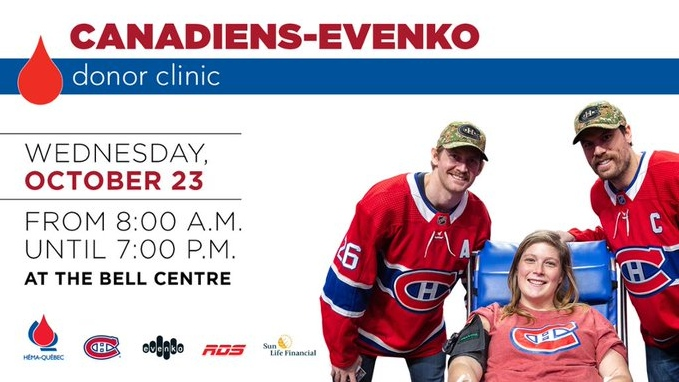 Canadiens blood drive