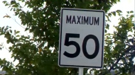 Calgary speed limits