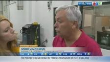 Katherine speaks with Instructor Randy Zyzniewski