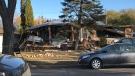 The home where the explosion took place. (Photos: Stephanie Tsicos/CTV News.)