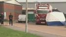 U.K. police yet to identify bodies found in truck