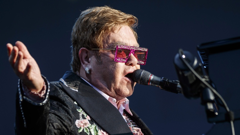 Elton John has tacked on 24 shows to the North American leg of his Farewell Yellow Brick Road Tour. (AP file photo)