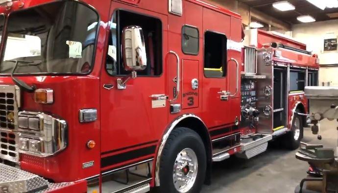 saanich fire truck