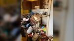 The kitchen inside Kristy Meyers property that was condemned by the city in Sept. (Kristy Meyers)