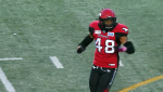 Stamps linebacker Wynton McManis has emerged as a defensive leader of the Calgary Stampeders