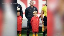 Boy meets Wayne Rooney in final MLS match