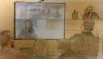 The friend of an alleged gang sex assault victim testified in court on Oct. 23, 2019.