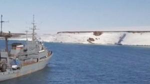 Russians make landfall on uncharted islands