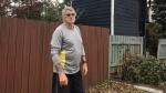 Bob Wilson says he added a second lock on the gate into his backyard after his neighbour's home got broken into. (Saron Fanel/CTV Saskatoon)