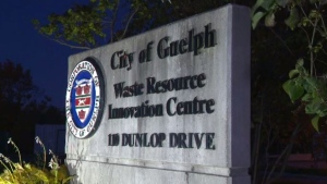 The Waste Resource Innovation Centre in Guelph is seen here. (Terry Kelly / CTV)