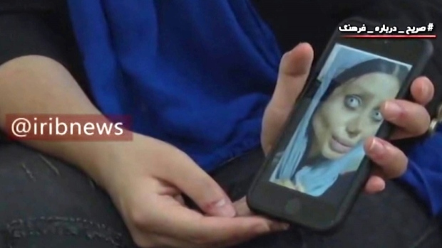 Iran TV airs interview with jailed 'zombie' Instagrammer