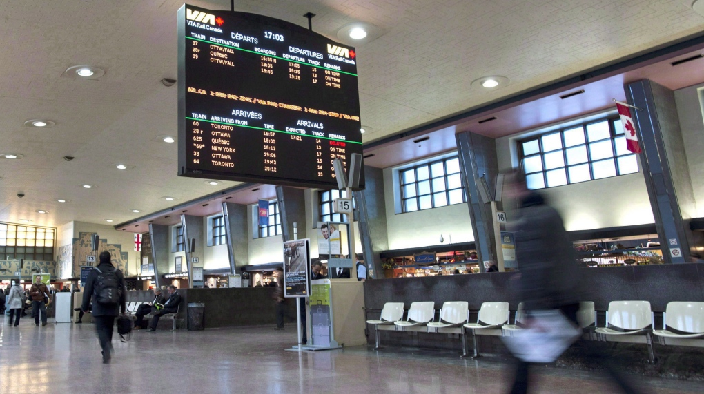 Delays at Montreal gare centrale