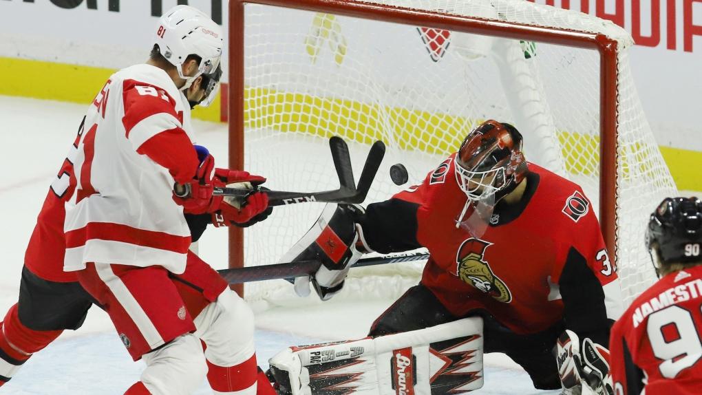 Detroit Red Wings vs. Ottawa Senators