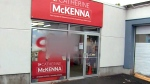 McKenna's office vandalized with vulgar slur