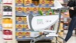 """Sobeys' new """"smart cart"""" will allow customers to scan items and checkout on the spot. (Sobeys)"""