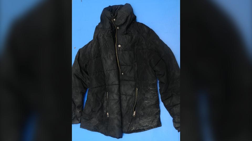 Black outer jacket