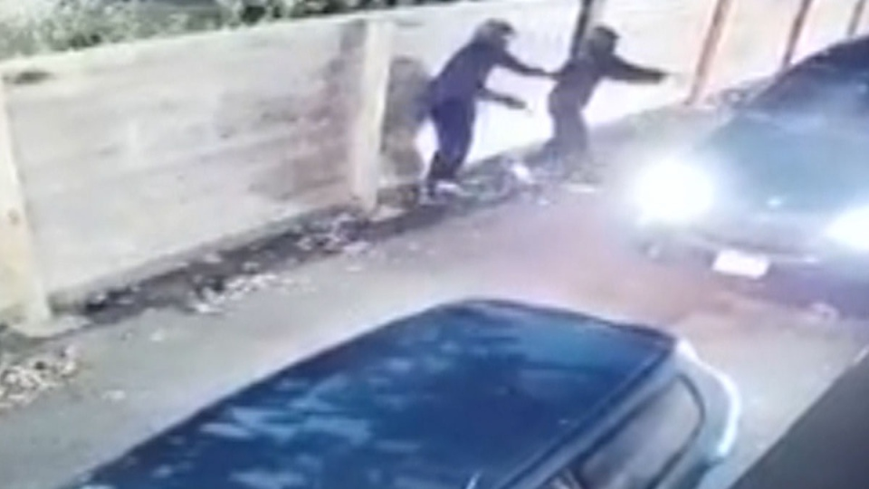 Abbotsford shooting caught on camera
