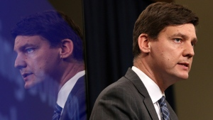 Attorney General David Eby has been pushing for action on money laundering since he was an Opposition member and said he first became concerned about it while working as a lawyer in Vancouver's impoverished Downtown Eastside neighbourhood. (THE CANADIAN PRESS/Chad Hipolito)