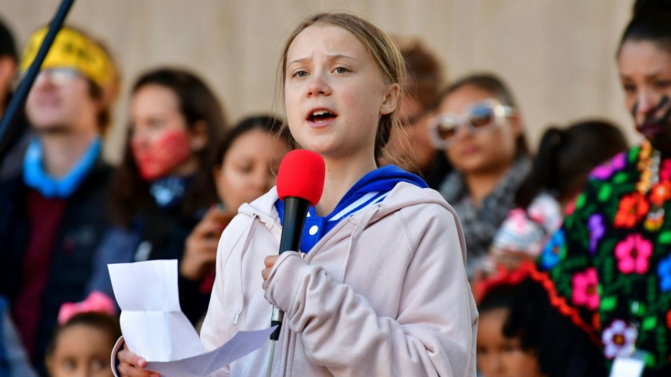 Sweden's Greta Thunberg, still only 16, has injected a burst of energy into the climate change movement. (AFP)