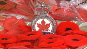 The Royal Canadian Legion started their 2020 Poppy Campaign friday.