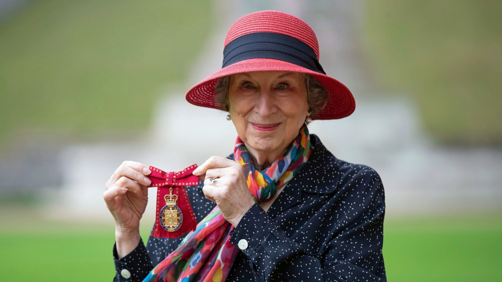 Royal honour for Margaret Atwood, awarded for services to literature