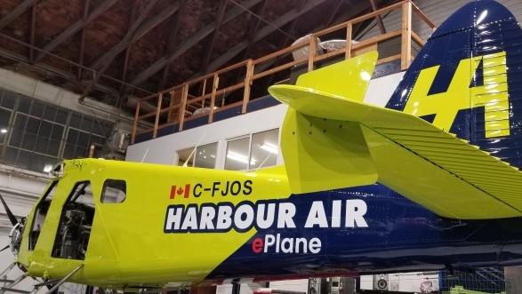 harbour air e plane
