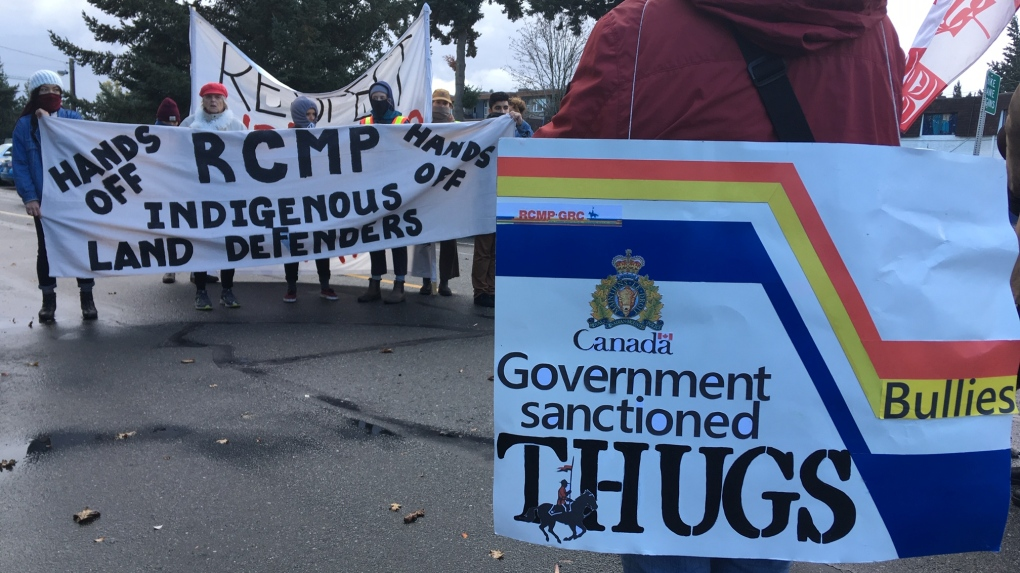 langford pipeline protest