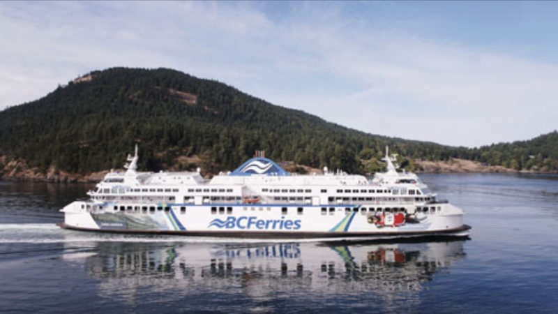 The Coastal Celebration vessel is pictured. (BC Ferries)