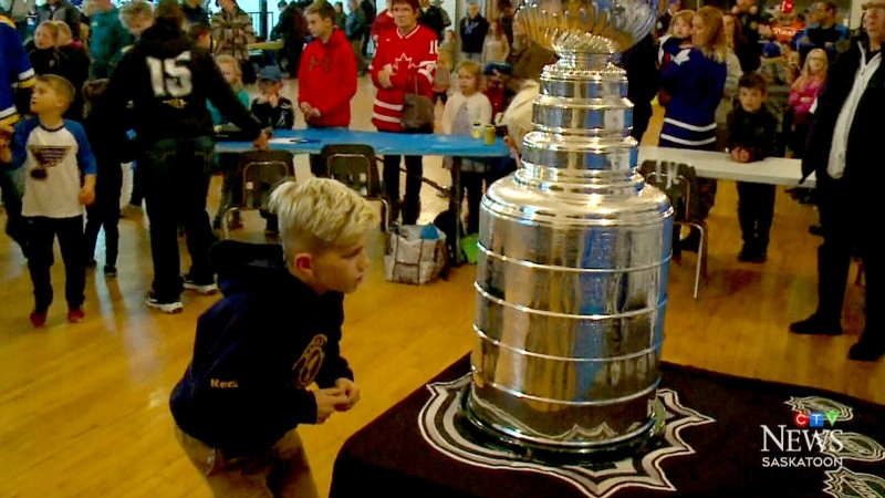 Stanley Cup comes to Porcupine Plain