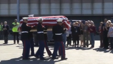 CTV National News: Veteran's remains brought home
